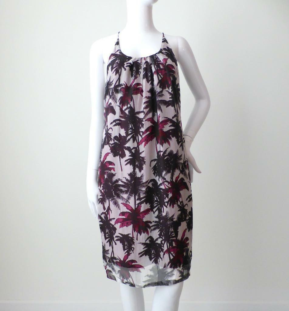 PHILOSOPHY BlauS ORIGINAL Dress NEW AU 8 US 2 Silk Sleeveless Floral Shift