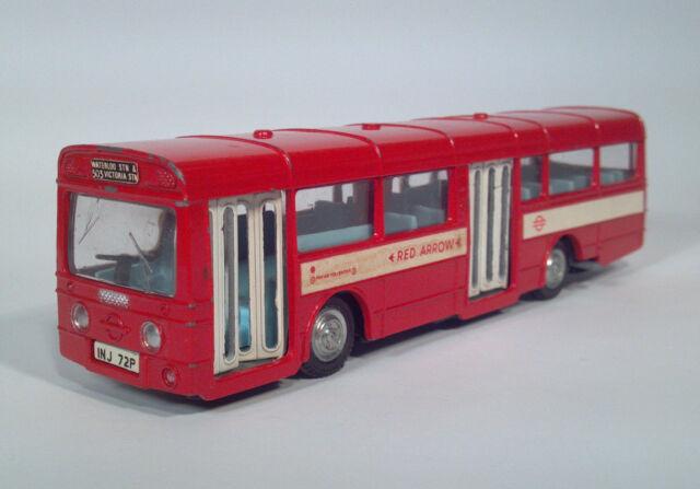 Dinky Toys 283H Red Arrow Single Decker Bus A.E.C Die Cast Scale Model Coach