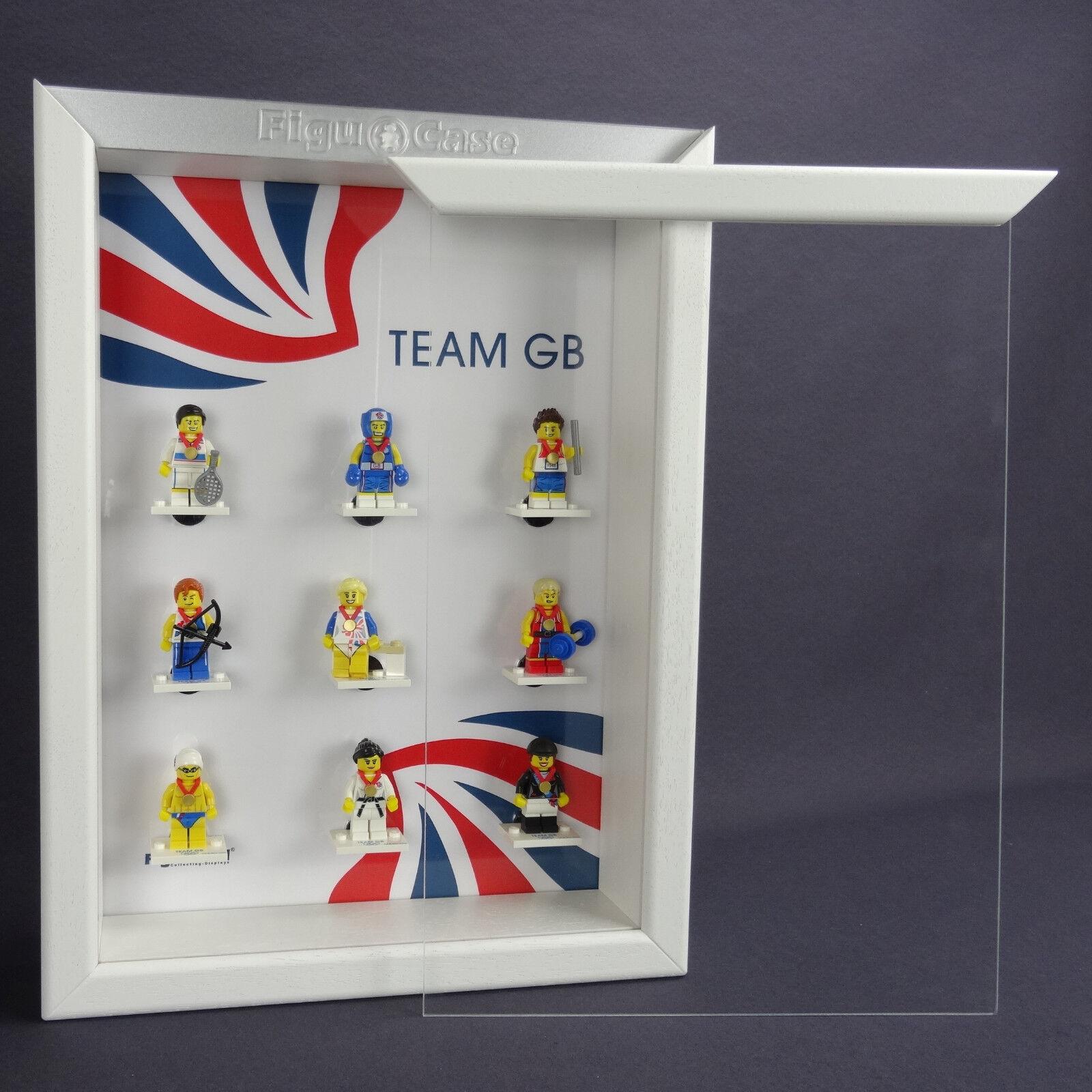 FiguCase Click System Vitrine für eure LEGO® Serien Figuren Team GB 2016