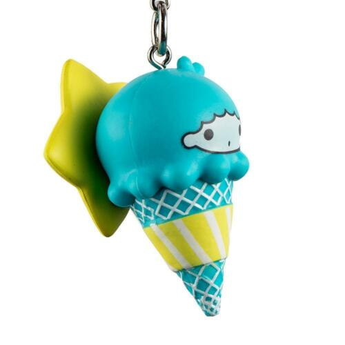 New kidrobot Hello Sanrio Ice Cream Cone Keychain Series Little Twin Stars Kiki