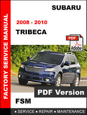 Subaru 2008 2010 Tribeca Factory Service Repair Fsm Manual Wiring Diagram For Sale Online Ebay