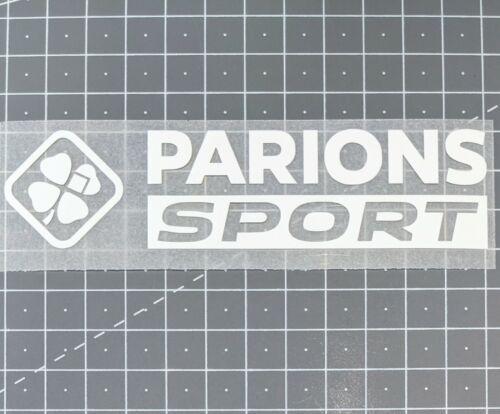 Third 2020 2021 Patch Flocage Sponsor OM Parions Sport Marseille Away