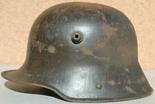 GERMANY WW1 HELMET MODEL 1916 MAKER STAMP B.F. 62 ORIGINAL WW1 IMPERIAL ARMY