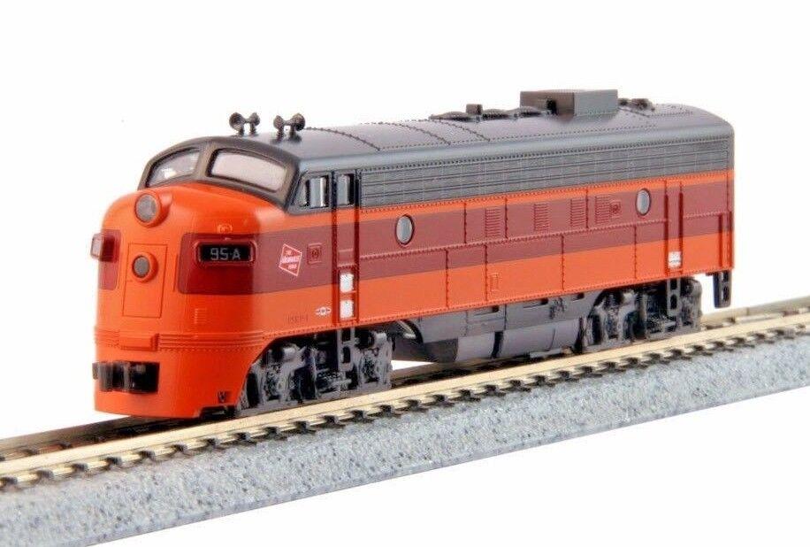 N Kato 1762301 Milw Rd OLYMPIAN HIAWATHA Locomotive C NIB