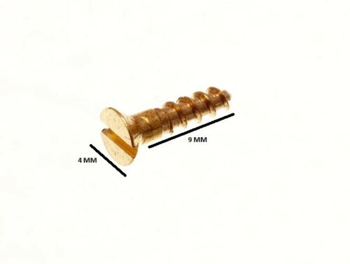 Screws No Pack 100 2 X 3//8 Inch Slotted CSK Countersunk Solid Brass