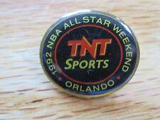 "TNT 1992 NBA ALL STAR GAME Orlando 1"" Pin Magic Johnson MVP"