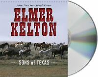 LN= Sons Of Texas Elmer Kelton 3 CD Audio Book
