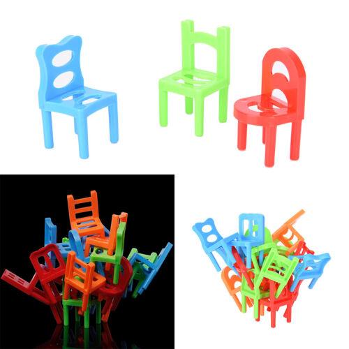 Balance Chairs Game Stacking Puzzle Toys kids Educational Desktop gamesPJ