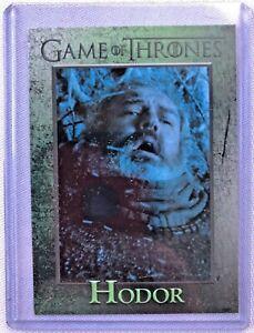 GAME OF THRONES SEASON SIX HODOR CARD #82 (Rittenhouse, 2017)