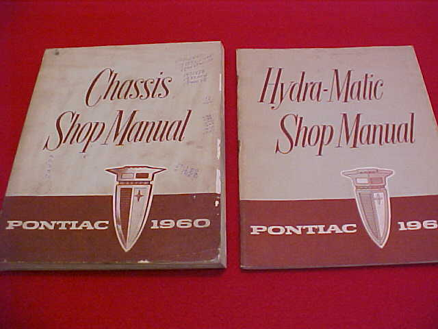 1960 Pontiac Original Service Shop Manual   Transmission