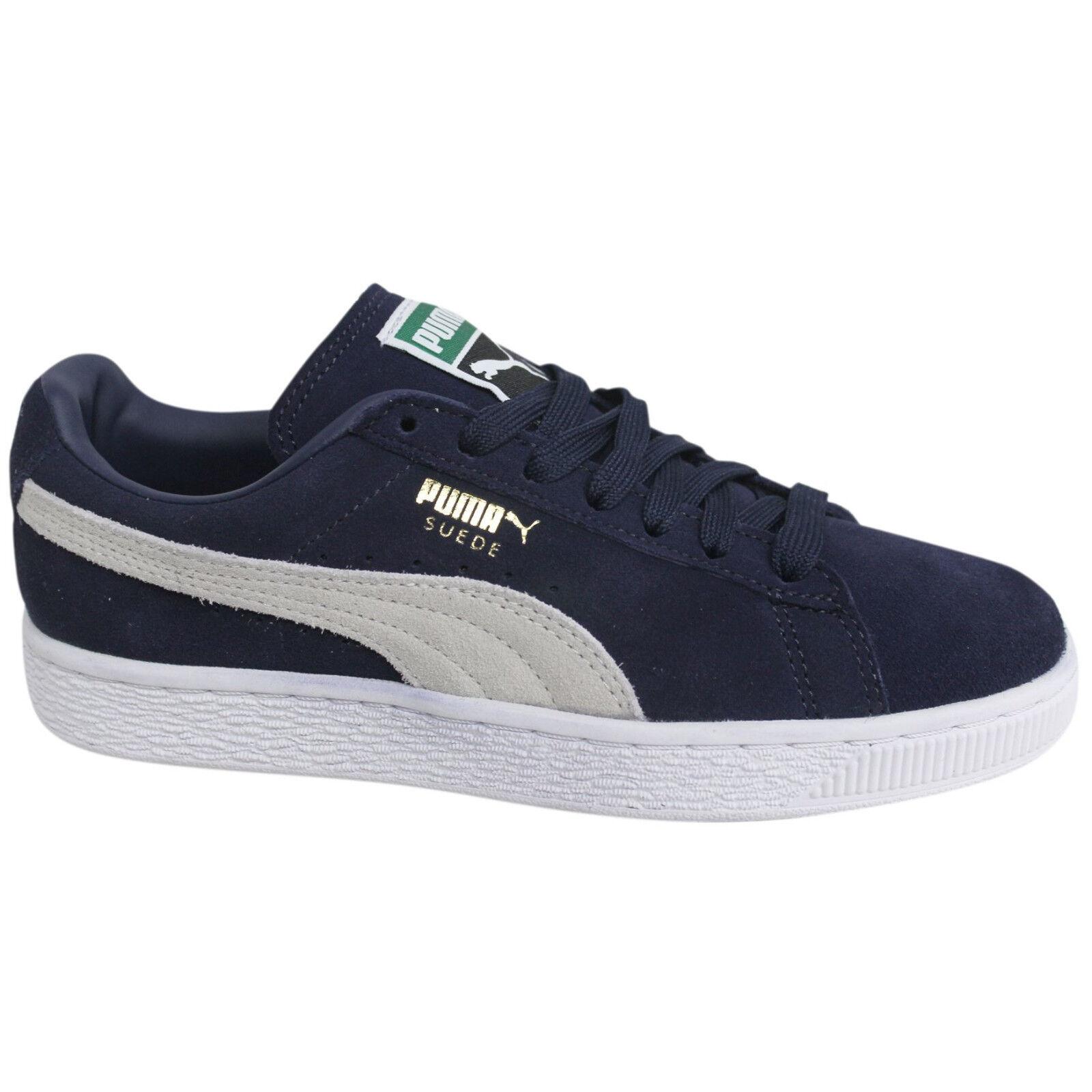 PUMA SUEDE CLASSIC+ - hombre Zapatillas casual para hombre - y mujer, color azul marino 394152
