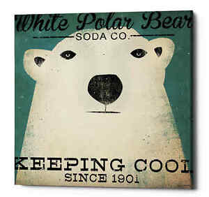 Epic-Graffiti-039-Polar-Bear-Soda-Co-039-by-Ryan-Fowler-Giclee-Canvas-Wall-Art