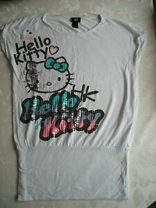 H-amp-M-034-Hello-Kitty-034-Blouson-T-Shirt-Age-11-12-yrs-Height-146-152-cms