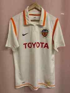 VALENCIA CF SPAIN 2006/2007 HOME FOOTBALL SHIRT JERSEY CAMISETA SIZE M NIKE