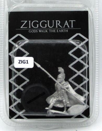 Lucid Eye ZIG1 Wings of Thanatos Greek Warrior Infantry Spearman Hero Ziggurat