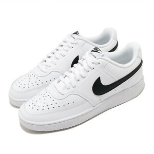 Nike-Court-Vision-Low-White-Black-Men-Classic-Casual-Shoes-Sneakers-CD5463-101