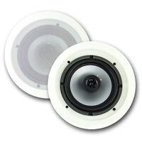 2) Vm Audio Vmis6 6.5 350 Watt 2 Way In Ceiling/wall Surround Home Speakers on sale
