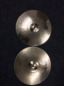 Paiste Twenty  14034 Custom Collection Hi Hat Cymbals - Liverpool, United Kingdom - Paiste Twenty  14034 Custom Collection Hi Hat Cymbals - Liverpool, United Kingdom