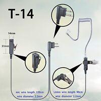 Earphone Headset For Motorola Pro1150 Pro2150 Gp3188 Gp3688 Cp185 Portable Radio