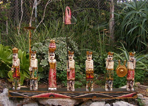 Huge-Bali-Procession-Statue-Hand-Carved-Wood-Indonesian-Asian-Art-39-034-x-17-034