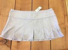 NWT LILU Light Purple Lavender corduroy pleated mini skirt Junior size 13 RV $29