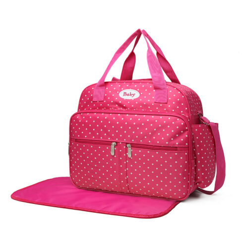 50/% Off Mummy Maternity Baby Diaper 2Pcs Animal Characte Changing Bag Clean Mat