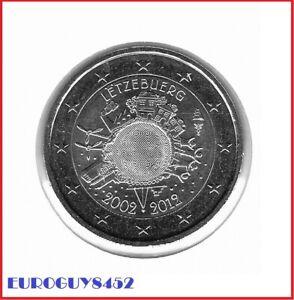 LUXEMBURG - 2 € COM. 2012 UNC - 10 JAAR EURO