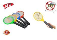 3 Raquette Électrique Anti-moustiques Moustique Anti Insectes Mouches