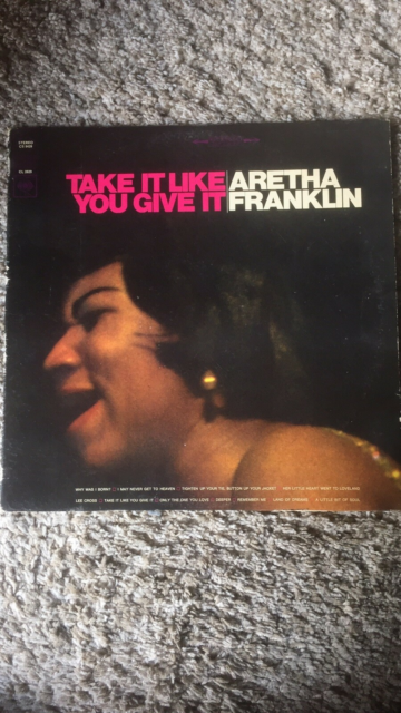 LP, Aretha Franklin, Take It Your Give It, Jazz, Rigtig god…