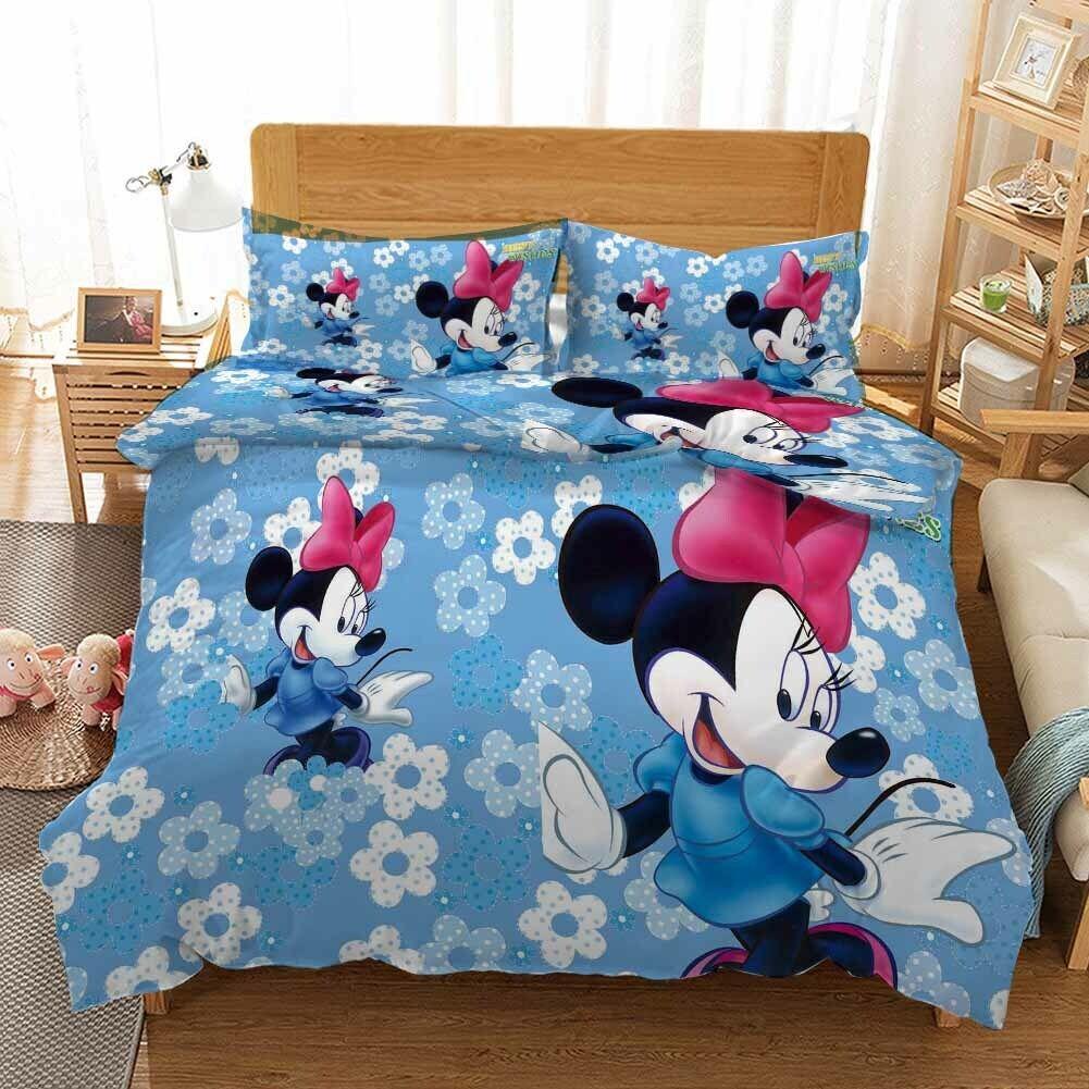 Happy Dance Mouse 3D Printing Duvet Quilt Doona Covers Pillow Case Bedding Sets