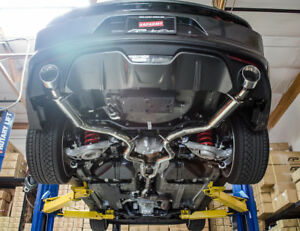 Details about AGENCY POWER AP CATBACK EXHAUST SYSTEM FOR 2015-2017 FORD  MUSTANG ECOBOOST TURBO