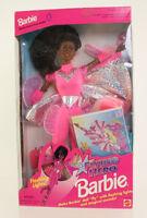 Mattel - Barbie Doll - 1995 Flying Hero Barbie (african American) Box