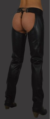 cavaliere Pantaloni in Pelle Lederhose Pelle Chaps leather trousers Aw-800 Donna gambali
