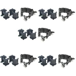 5x-Chauvet-CLP10-360-Wrap-Around-O-Clamp-For-Lighting-Stands-amp-Truss