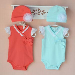 New Baby Girls  Cotton Bodysuit 9M