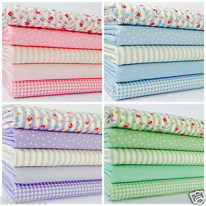 fat-quarter-bundles-100-cotton-pastel-pink-blue-green-amp-lilac-5-FQ-per-bundle