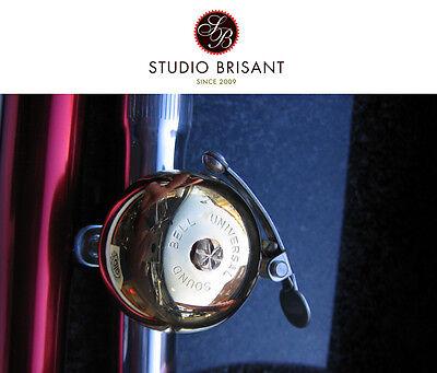 Messingglocke Rennrad / Fahrrad Klingel aus Japan *Universal Sound*  super Edel