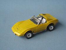 Matchbox Premiere 1978 Corvette T Roof Yellow Body Classic USA Retro Toy Car