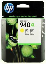 Genuine HP 940XL Yellow Ink Cartridge C4909AE for OfficeJet Pro 8500 8000