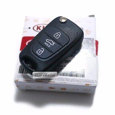 OEM Keyless Entry Fob Folding Key Remote Control Blank For KIA 2014-15 Optima K5