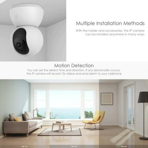 Xiaomi Smart IP Camera 1080P WiFi Pan Tilt Camera Night Vision 360 Angle Webcam