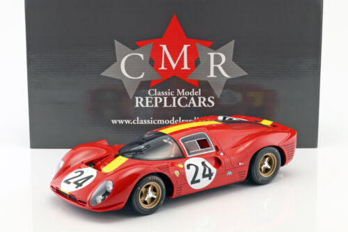 Mairesse 1:12 cmr Ferrari 330 p4 #24 3rd 24h 1967 Lemans blaton
