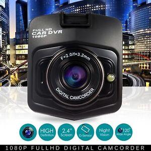 Car DVR Camera GT300 HD 1080P video Recorder G-Sensor Night vision Dash Cam