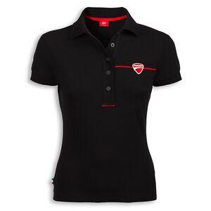 Maglietta Ducati Elasticizzata Company Polo M c Xs Donna 2 Originale Nero Taglia ZYxqdHwwF