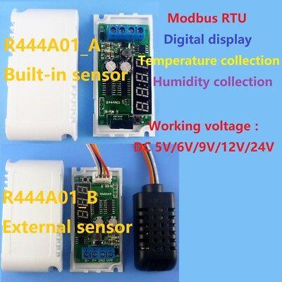 4pcs Temperature Humidity Transmitter RS485 SHT20 Sensor Modbus RTU