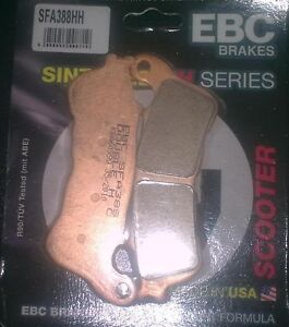 EBC SFA Series Sintered Scooter Front Brake Pads 2012 KYMCO Downtown 200i