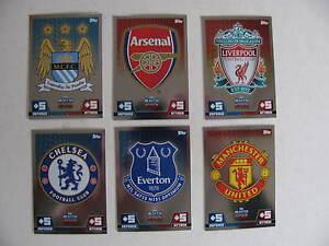 Match-Attax-2014-2015-Club-Badges-Barclays-Premier-League-English-Colours-Emblem