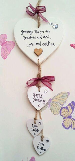Personalised Nanny Nan Nana Gran Granny Great Grandma Birthday Present Gift