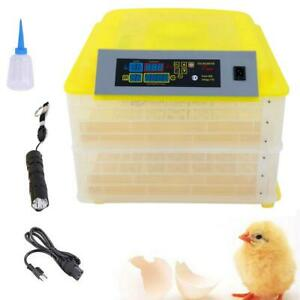 112-Eggs-Chicken-Goose-Incubator-Automatic-Egg-Incubator-Poultry-Hatcher-110V