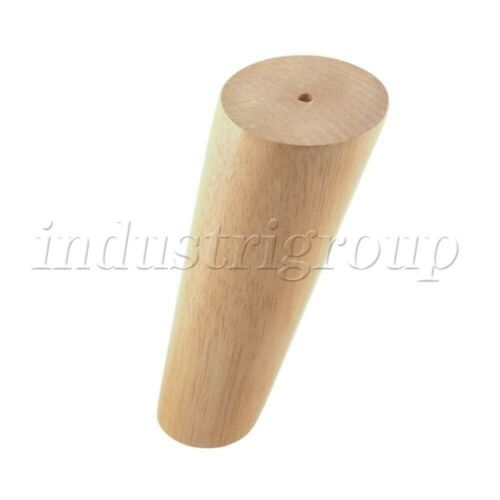 Wooden Furniture Leg Oblique Tapered for Cabinets Legs Sofa Pack of 4